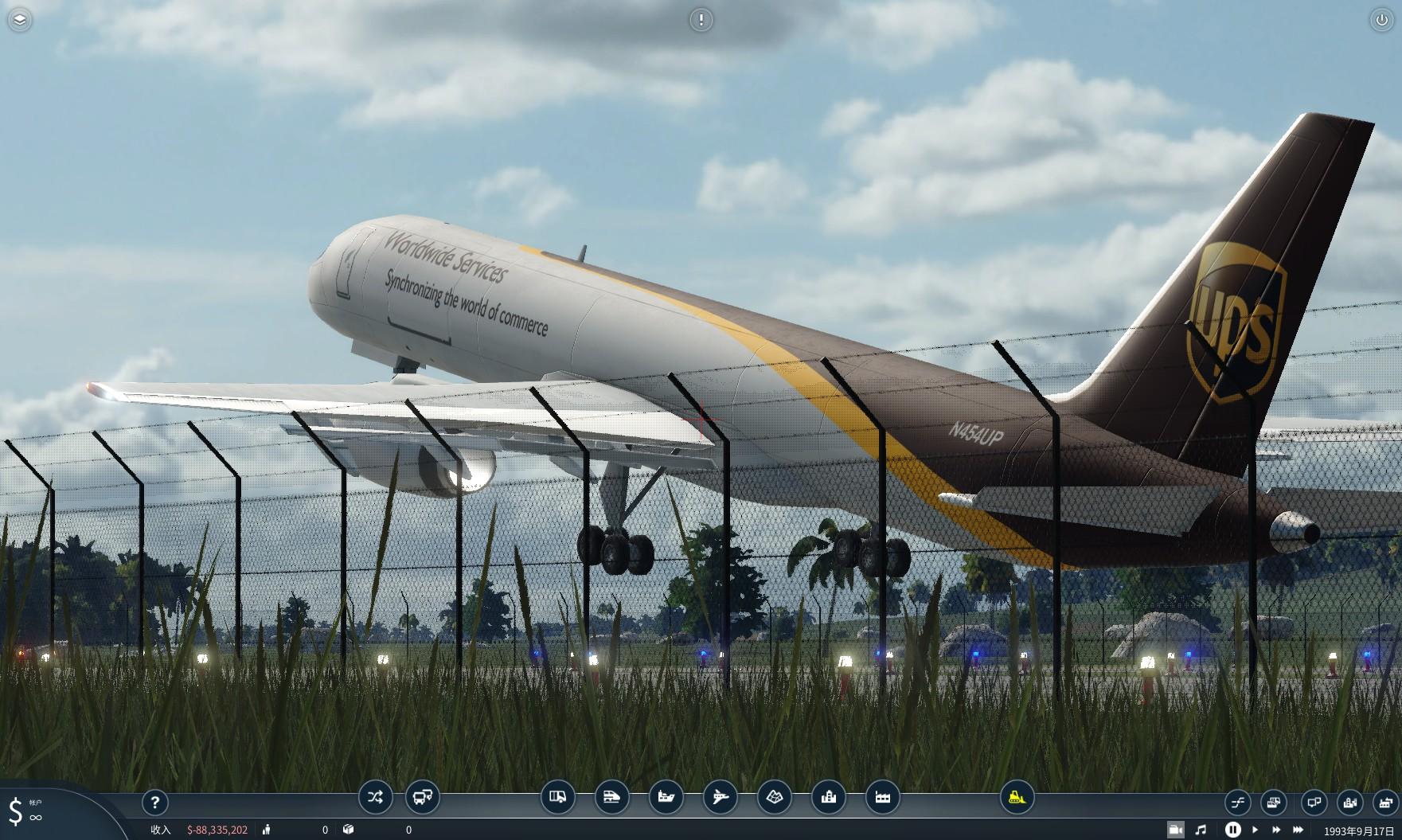 UPS Air Cargo Boeing 10-10F Mod  Transport Fever 10 Mod Download
