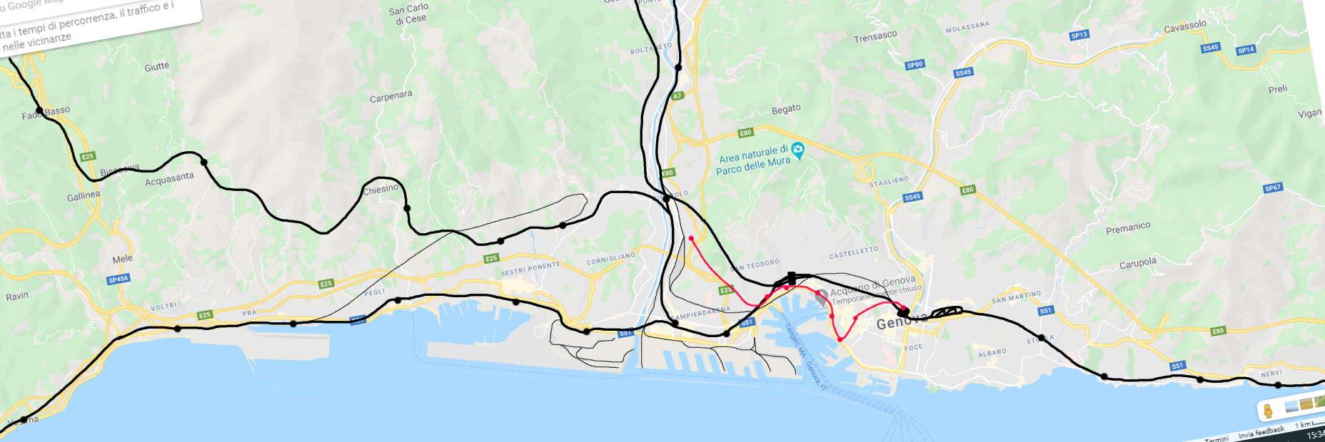 Genova Genoa Italy Mod Transport Fever 2 Mod Download